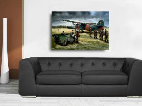 NVA Fallschirmjäger der DDR Luftlandetruppen FJB 40