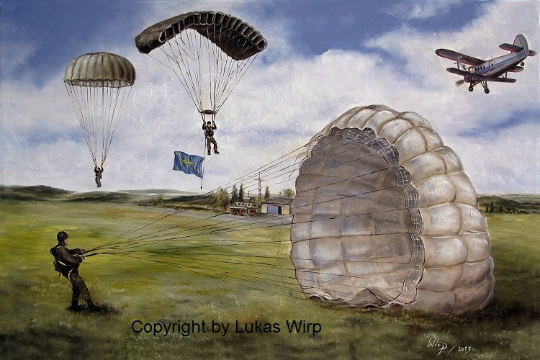 Fallschirmjäger Militär Europa Fallschirmsprung Lukas wirp Fotos