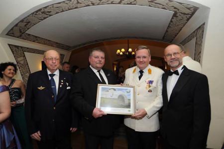 Kunstdruck Verleihung Militär fallschirmspringer Abzeichen