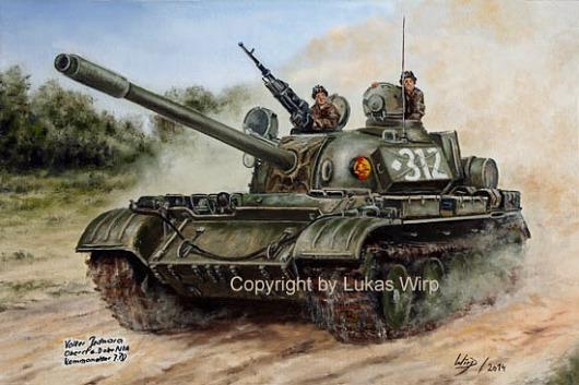 DDR Streitkräfte Panzer Lukas Wirp Poster Leinwand Bilder fotos