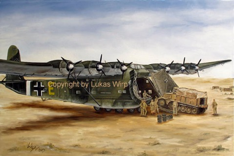 Deutsches Afrika Korps Flugzeuge Wehrmacht 2. weltkrieg foto Poster