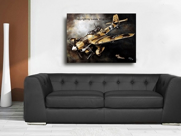 Stuka, Gemälde, Afrika Korps, Wehrmacht, Poster, Militär