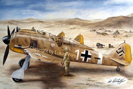 Deutsche Lufwaffe Jagdflieger WK2 Ritterkreuz Afrika Gefecht Luftkampf