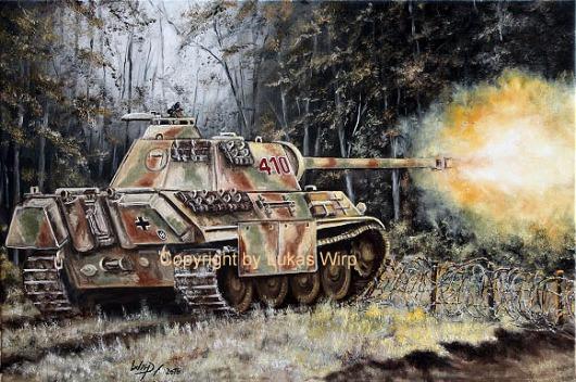 Panzer , Bilder , Militär , Poster , Waffen SS , Panther V