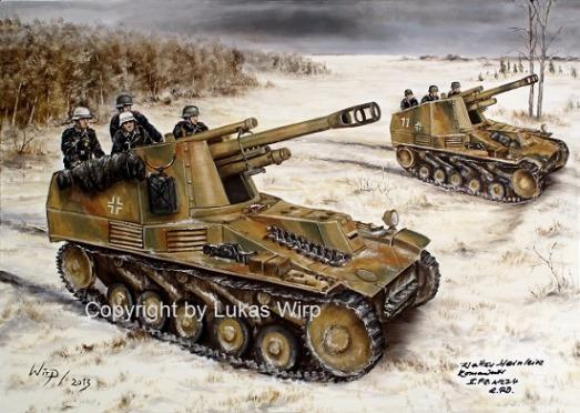 Wehrmacht Panzer Artellerie Ostfront