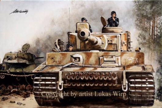 Wehrmacht Panzer Tiger Ostfront Bilder