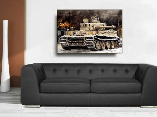 Leinwand Kunstdrucke Lukas Wirp Militär Bilder